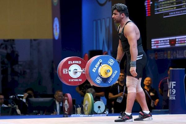 حمید محمدی مربی تیم ملی وزنه برداری شد