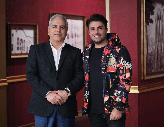 علیرضا طلیسچی در کنار مرد همیشه دوست داشتنی+ عکس