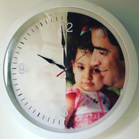 ساعت خاص منزل یکتا ناصر و منوچهر هادی /عکس