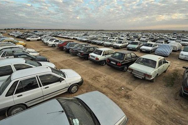 پارکینگ های مرز مهران در اربعین 98