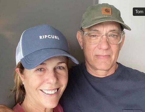 تام هنکس و همسرش در قرنطینه کرونا