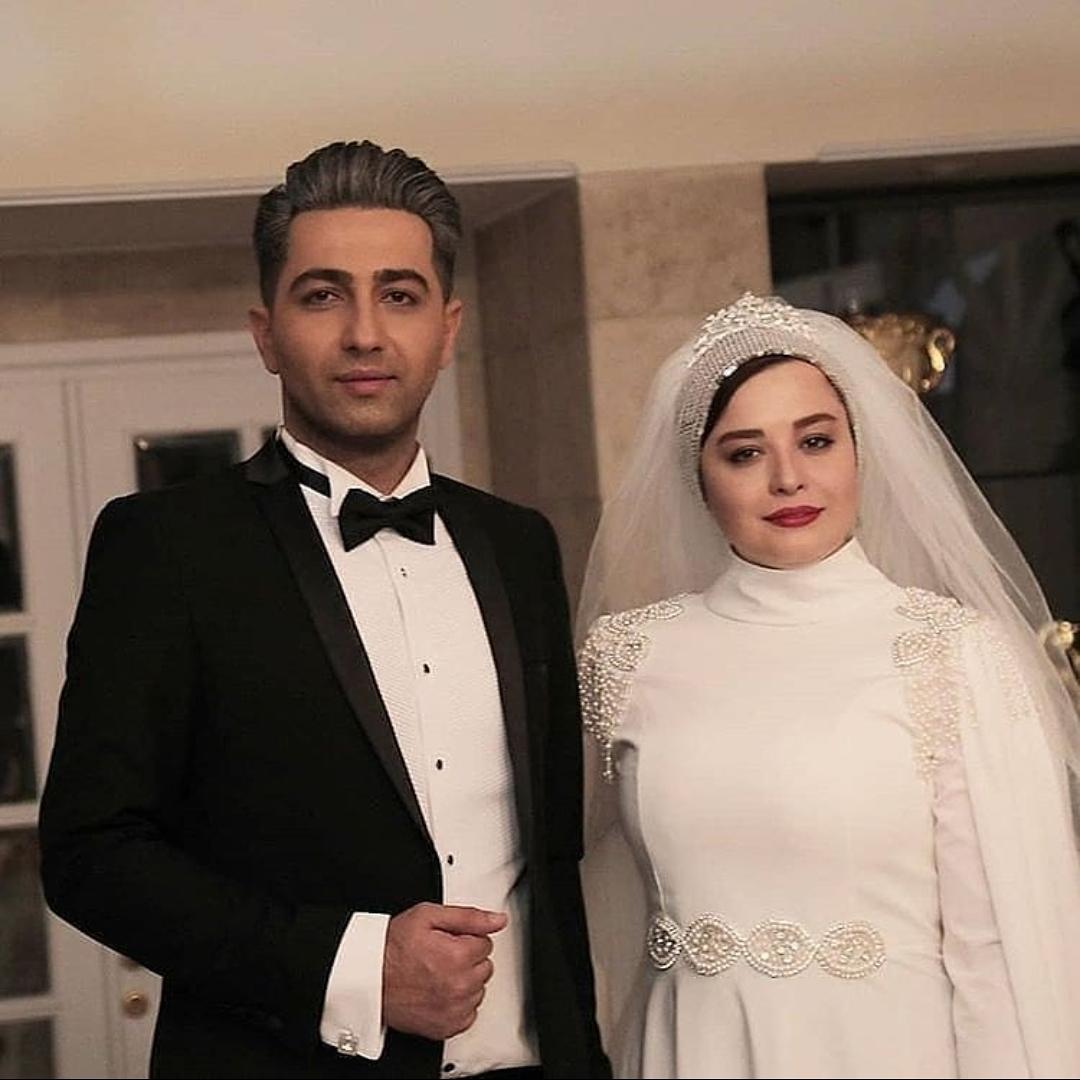 مهراوه شریفی نیا در لباس عروس /عکس