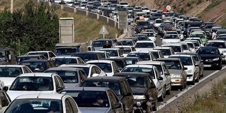 آخرین وضعیت ترافیکی جادههای کشور امروز چهارشنبه ۲۱ مهر ۱۴۰۰/ ترافیک سنگین در آزادراه شهریار – تهران