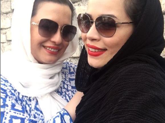 ملیکا و مهراوه شریفی نیا