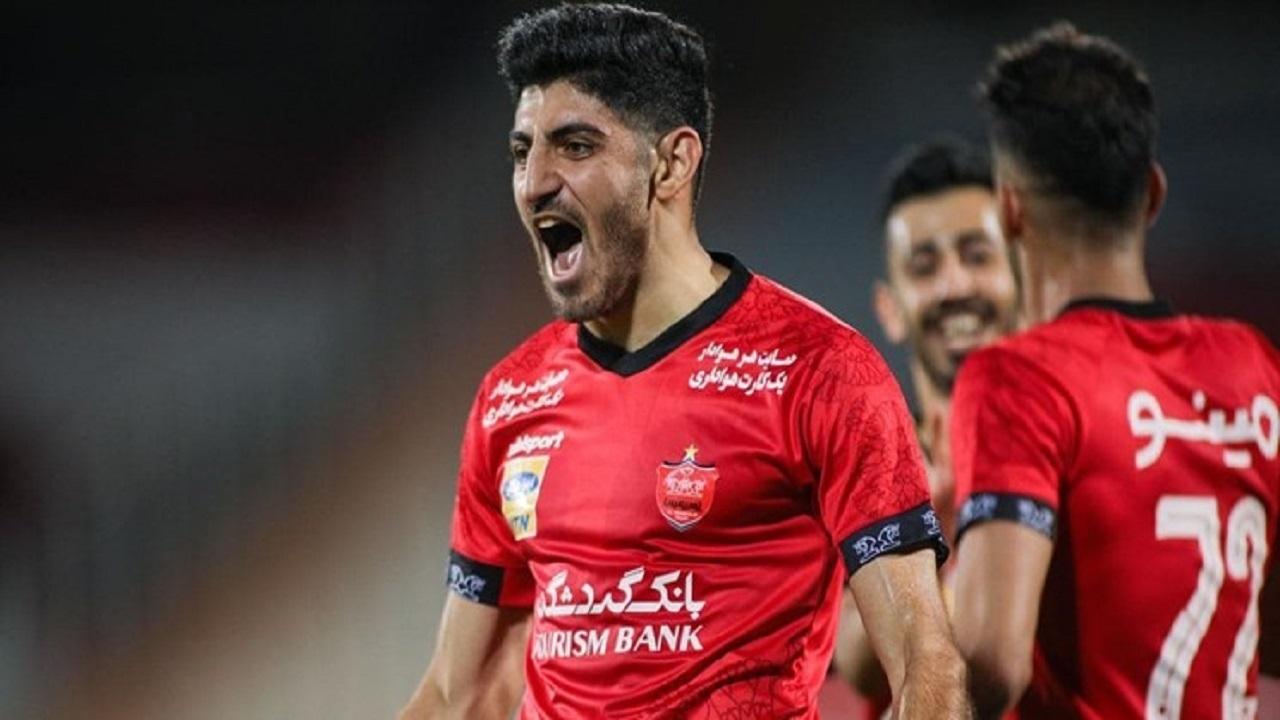 هافبک پرسپولیس جزو ۸ ستاره لیگ قهرمانان آسیا