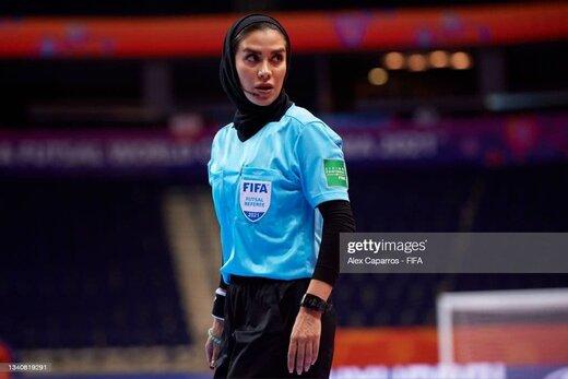 سوپرایز جالب برای داور زن ایرانی در فرودگاه