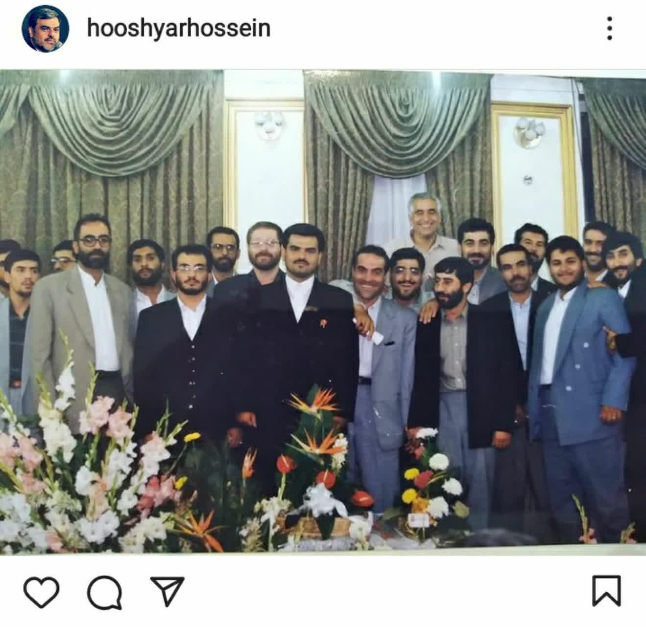 عروسی حاج حسین هوشیار مداح معروف /عکس