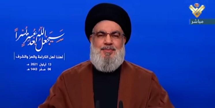 درخواست سید حسن نصرالله از مردم لبنان