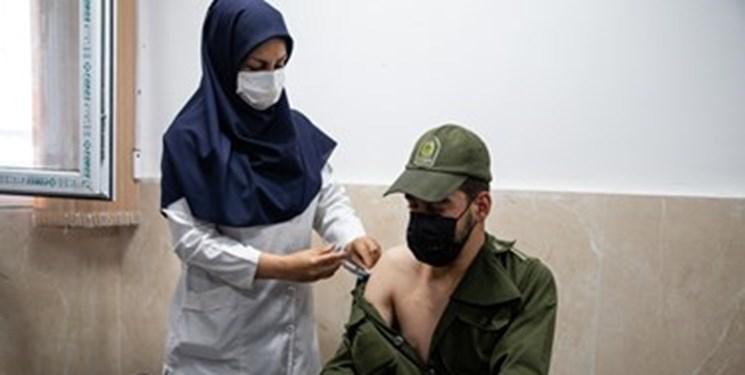 واکسیناسیون ۹۰ درصد از سربازان پلیس پایتخت