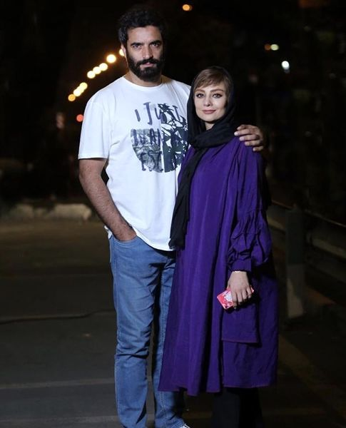 شبگردی های منوچهر هادی و همسرش /عکس