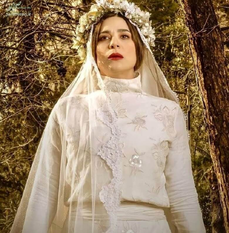 سحر دولتشاهی لباس عروس به تن کرد /عکس
