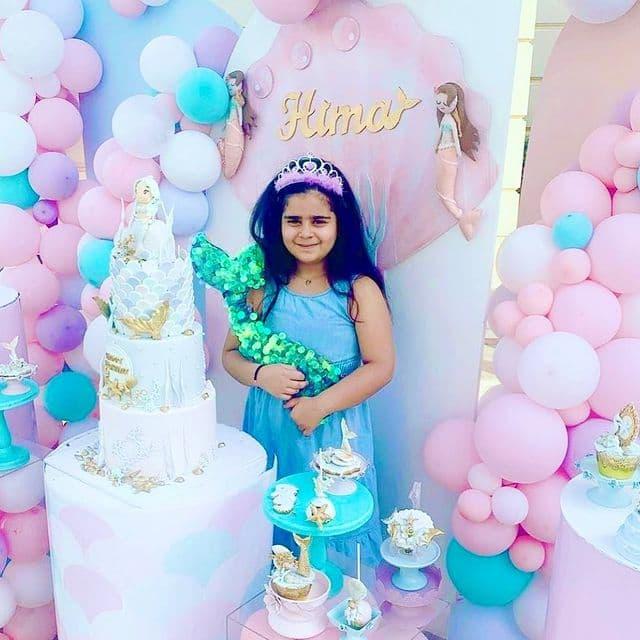 کیک تولد لاکچری دختر هلی کریمی+ عکس
