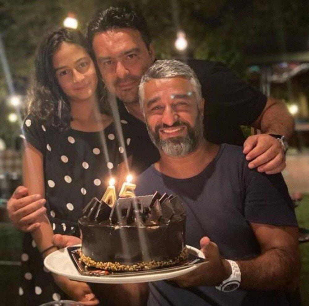 تولد 45 سالگی پژمان جمشیدی در کنار دوستانش /عکس