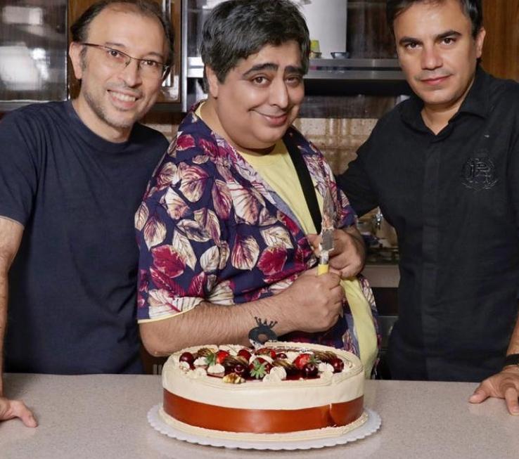 جشن تولد رضا شفیعی جم
