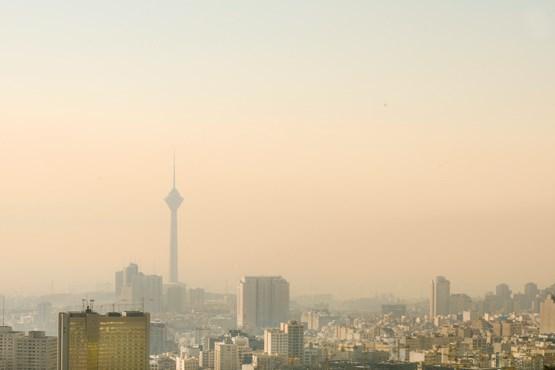 هوای تهران در وضعیت ناسالم قرار گرفت