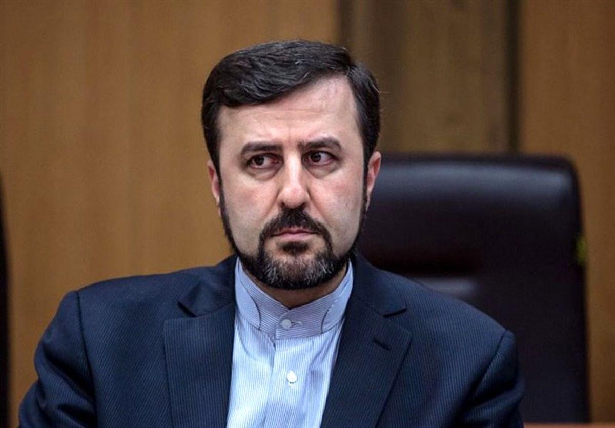 توئیت غریب آبادی پس از دیدار با گروسی در تهران