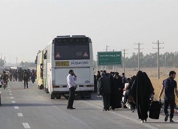 هزینه های سفر اربعین98