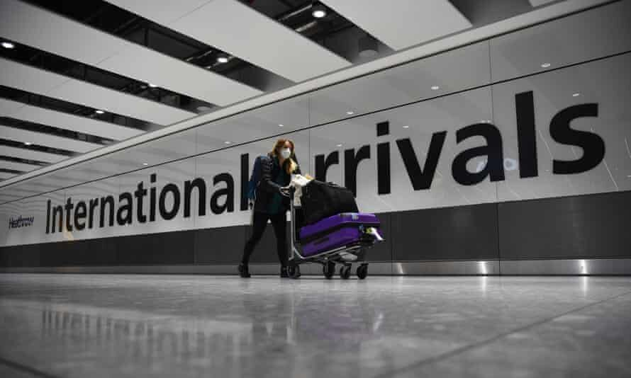 هزاران فرصت شغلی انگلیس در معرض خطر مقررات سفر کرونا