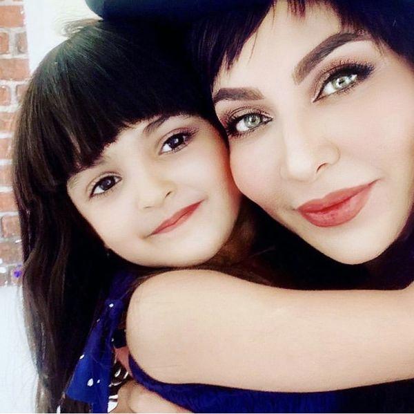 فقیهه سلطانی در آغوش دختر نازش /عکس
