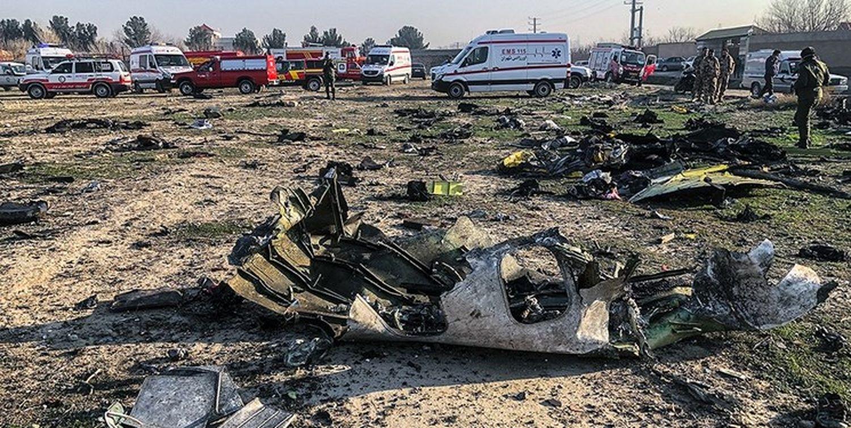 علت سقوط هواپیمای اوکراینی