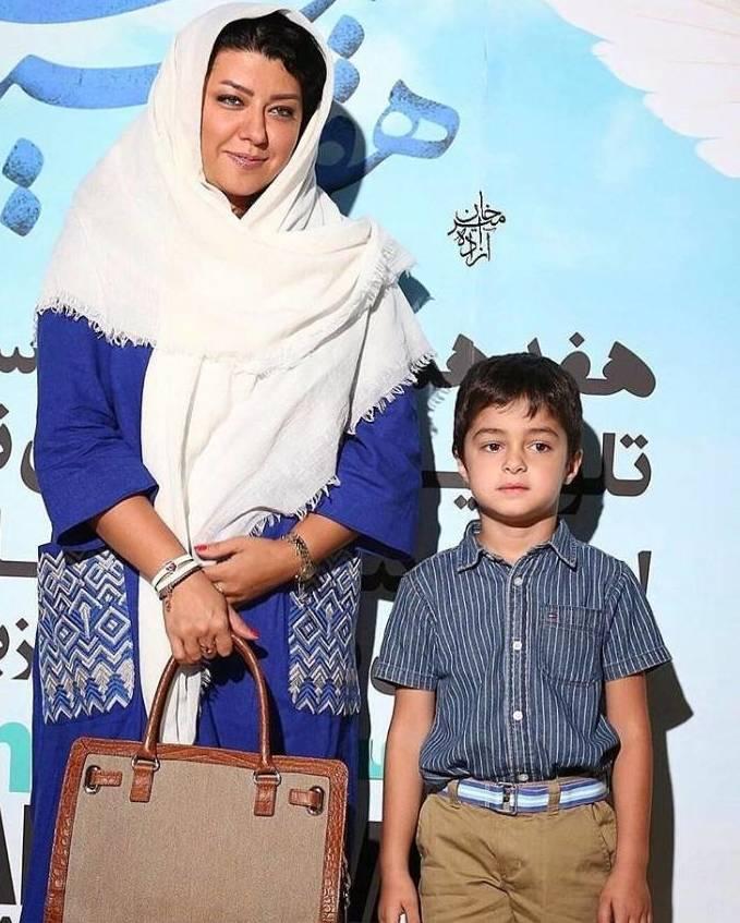 عکس جدید شهاب حسینی و پسرش