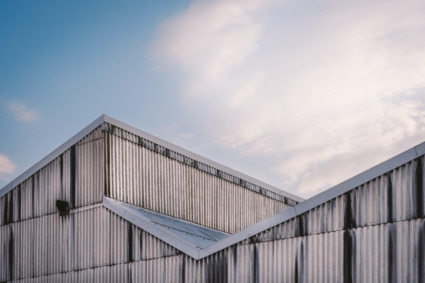 استفاده از ورق گالوانیزه برای پوشش سقف