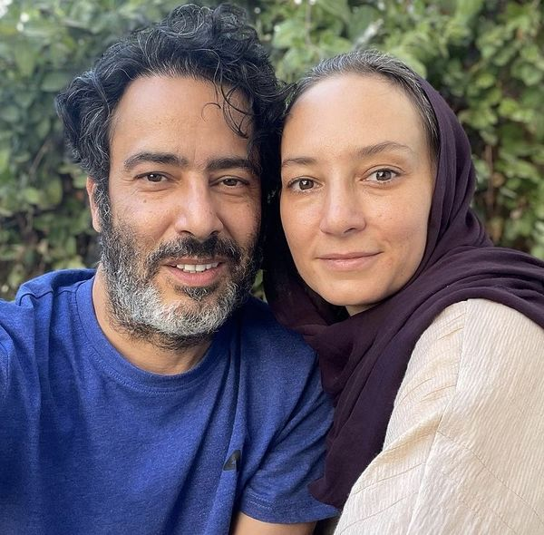 عاشقانه های سحر ولدبیگی و همسرش /عکس