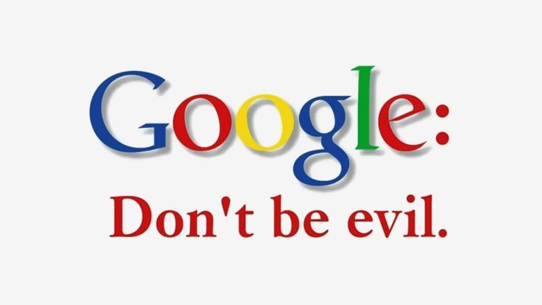 بد نباشی شعار گوگل