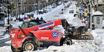 سنگینترین بارش برف 50 سال اخیر  در اسپانیا