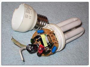 معضل جدی امحای لامپ های کم مصرف
