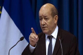 وزیر خارجه فرانسه ایران را به ارسال سلاح به یمن متهم کرد
