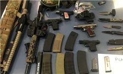 انبار بزرگ سلاح در مرکز بلوچستان پاکستان کشف شد