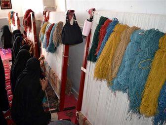 اشتغال تمامی بانوان روستای سادات زابل در مشاغل متفاوت