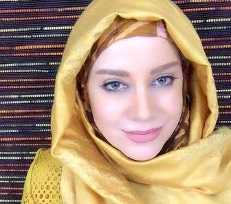 مانتوی عجیب خانم بازیگر در جشنواره مد و لباس/عکس