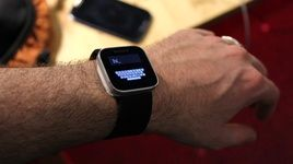ساعت مچی هوشمند با قابلیت تایپ! + عکس
