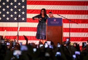 واقعیت سفر میشل اوباما به قطر + تصاویر