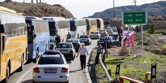 علت ترافیک سنگین در محور ایلام به مهران مشخص شد