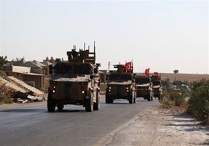 استقرار تجهیزات نظامی ترکیه در ادلب سوریه