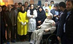 آیت الله حسن زاده آملی از بیمارستان مرخص شد