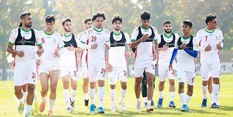 اعلام زمان تمرین فردای تیم ملی فوتبال