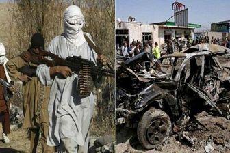 انهدام خودروی مواد منفجره طالبان در افغانستان