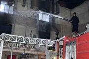 افزایش شمار قربانیان حادثه آتشسوزی بیمارستان «بغداد»