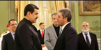 سفیر جدید ایران استوارنامه خود را به مادورو تقدیم کرد