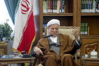 رفسنجانی: ملت انقلاب را تنها نمیگذارد