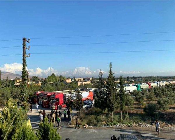 شکست محاصره آمریکا با ورود تانکرهای سوخت ایران به لبنان/گزارش تصویری
