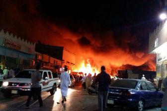 آتش سوزی مرگبار در نجران عربستان