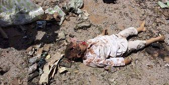 کشته شدن 3 کودک یمنی بر اثر انفجار بمب جا مانده از حملات ائتلاف سعودی