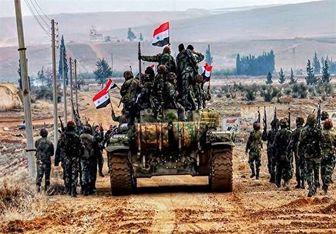 حمله نیروهای ارتش سوریه به تروریست ها در حماه