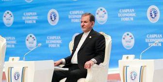 دیدار «جهانگیری» و «بردی محمداف»؛ توسعه روابط تجاری محور رایزنی