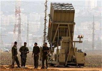 سامانه گنبد آهنین رژیم صهیونیستی در شمال نوار غزه